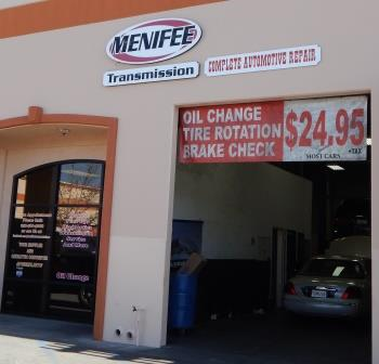 auto repair menifee ca shop front