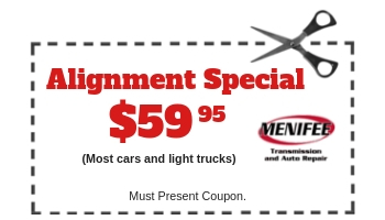 Menifee Transmission Dec 2018 Coupon Alignment 59